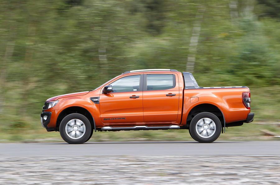 Ford Ranger side profile