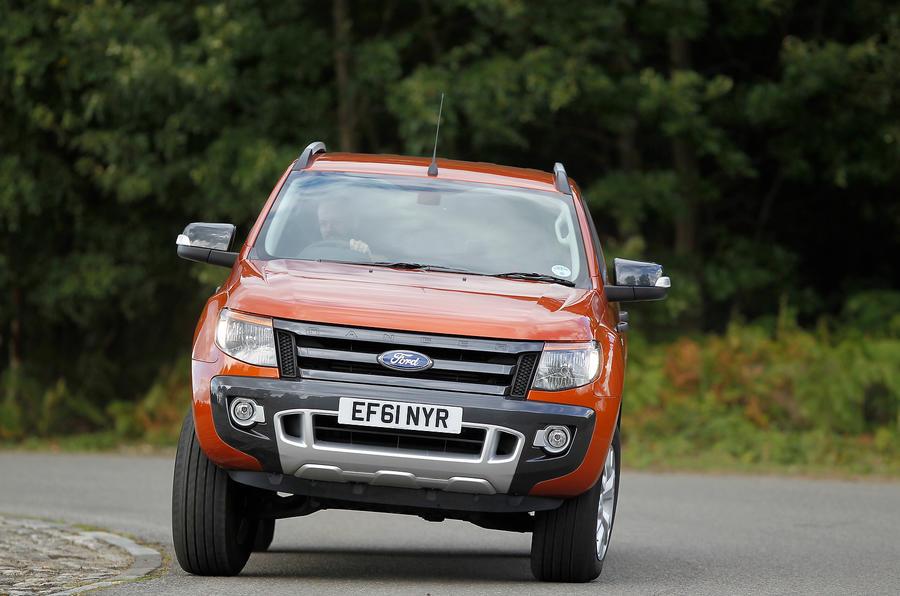 Ford Ranger cornering
