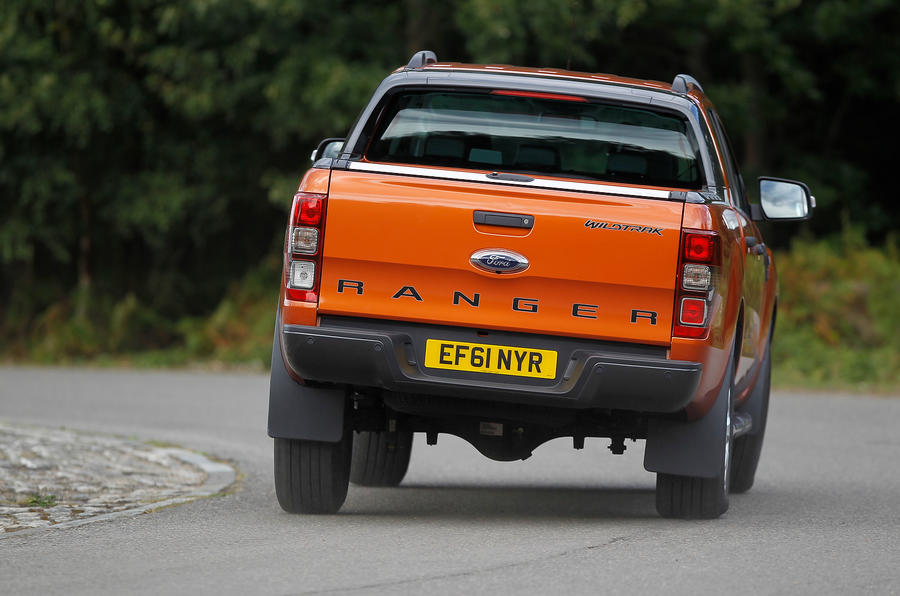 Ford Ranger rear cornering