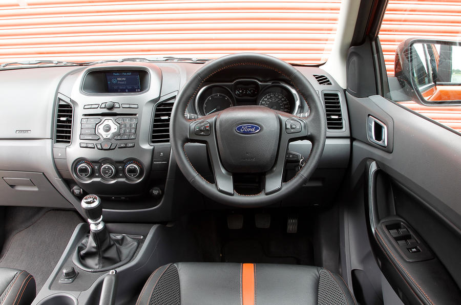 Ford Ranger dashboard
