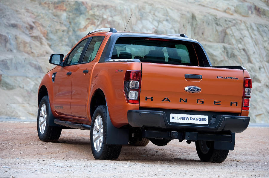 Ford Ranger rear