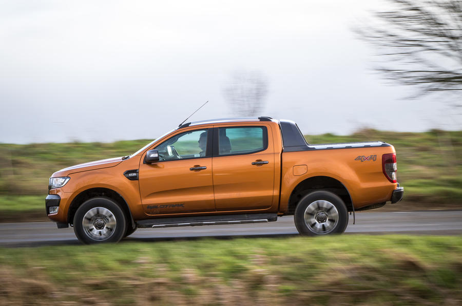 Ford Ranger side profile
