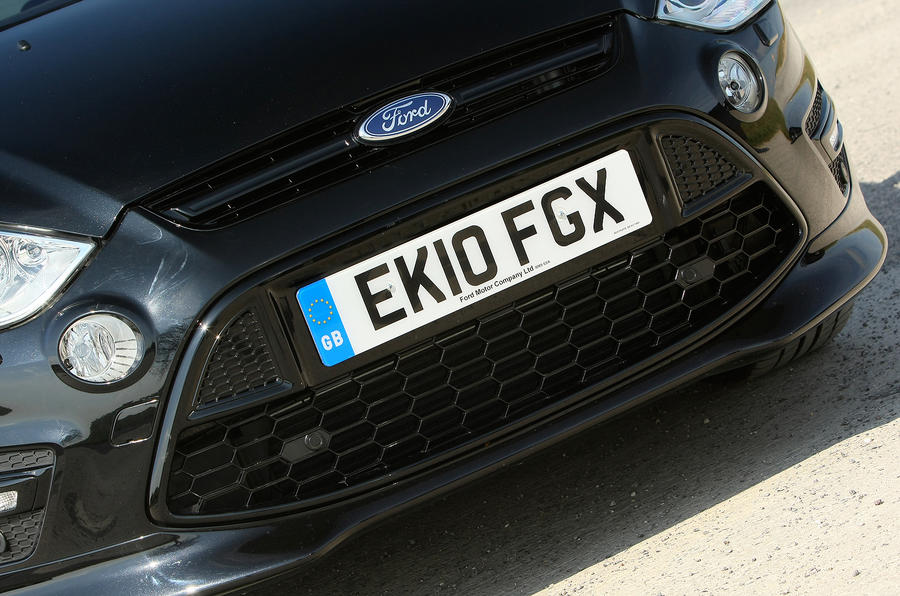 Ford S-Max front grille