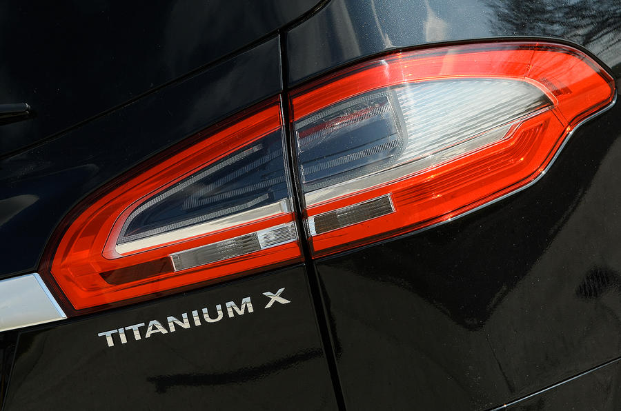 Ford S-Max rear lights