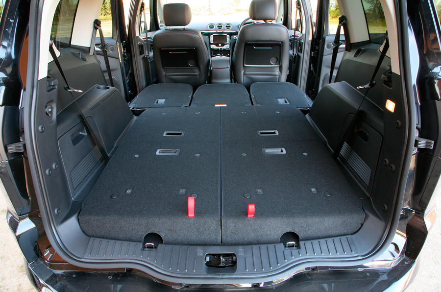 ford s max seat flexibility