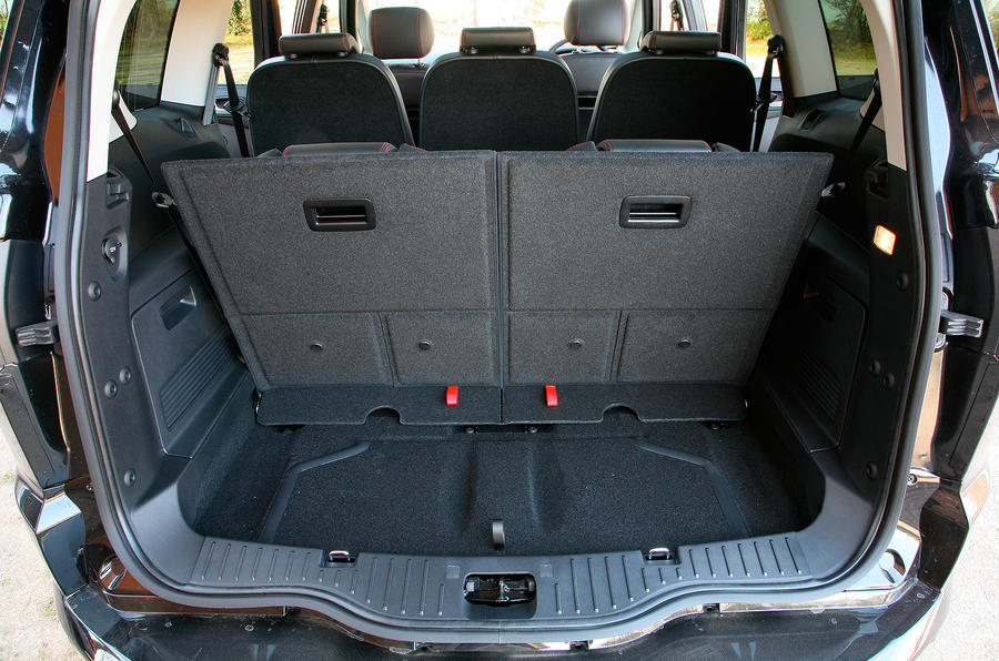 Ford S Max Boot Space