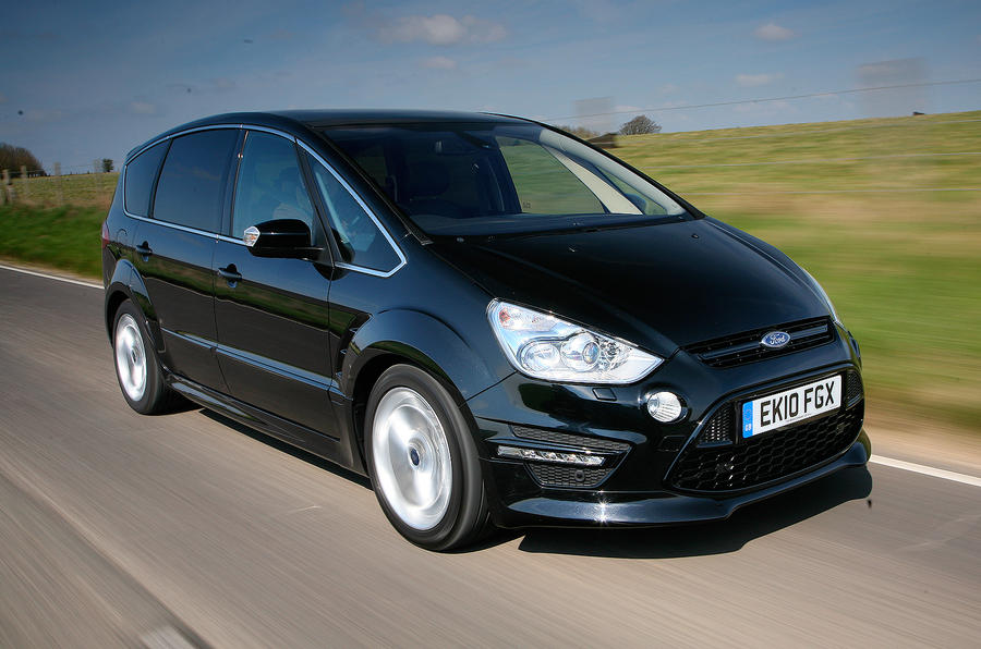 The 158bhp Ford S-Max