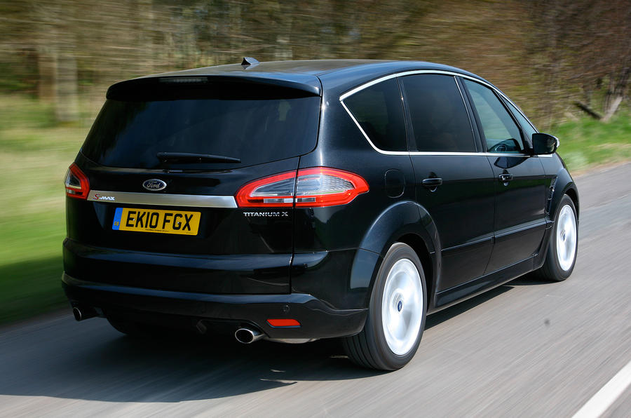 Ford S-Max rear quarter