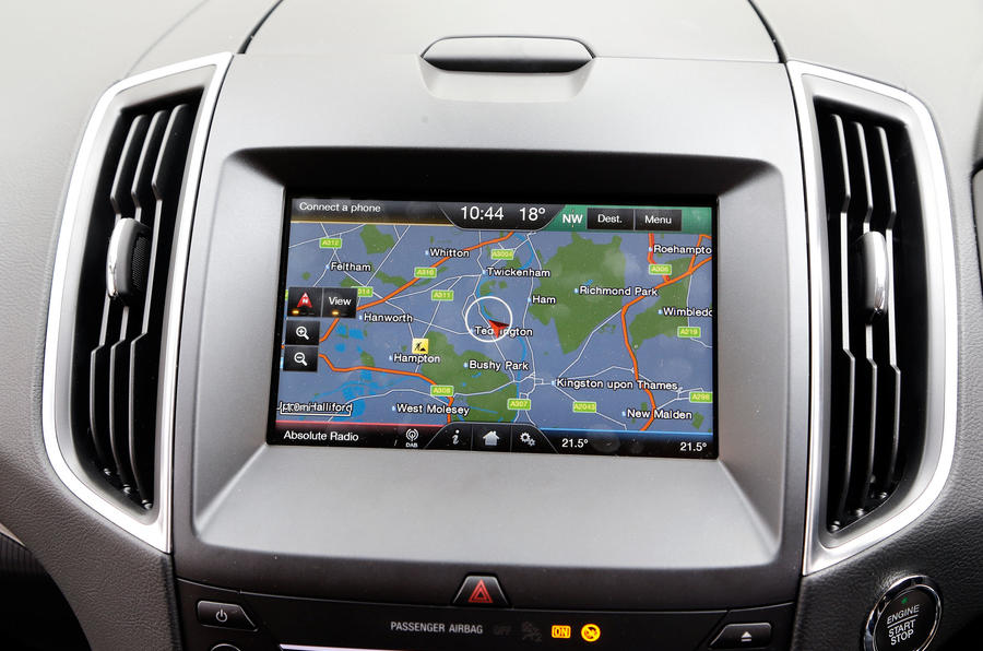 Ford S-Max infotainment system