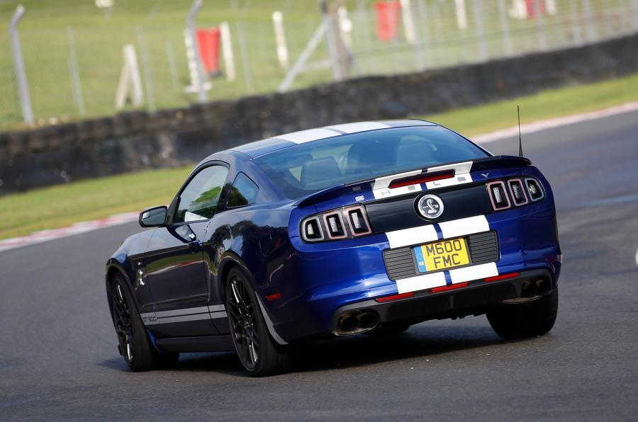 Ford Mustang Shelby GT500 rear