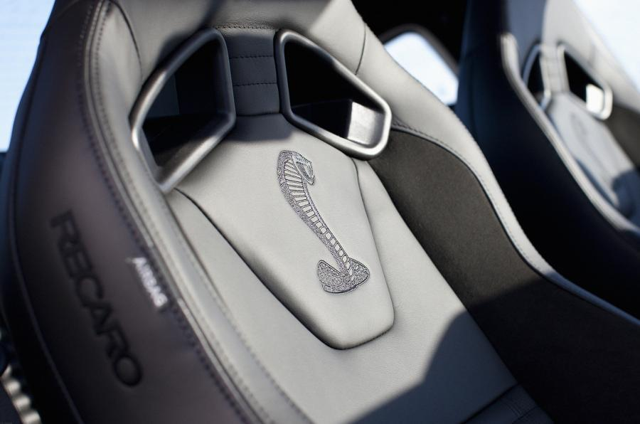 Shelby GT500 stitched sport seats