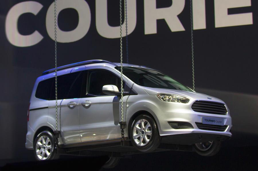 Geneva Motor Show 2013 Ford Tourneo Courier Autocar