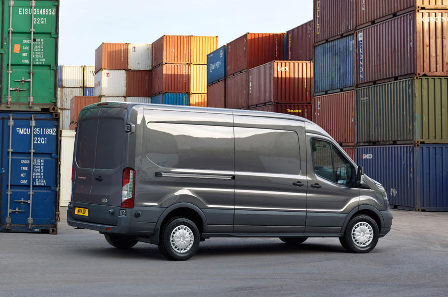 Ford Transit side profile