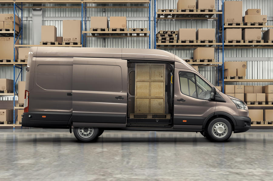 Ford Transit sliding doors