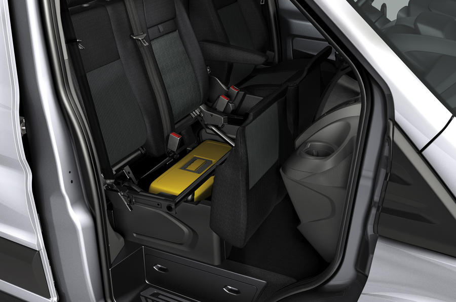 Ford Transit front seats