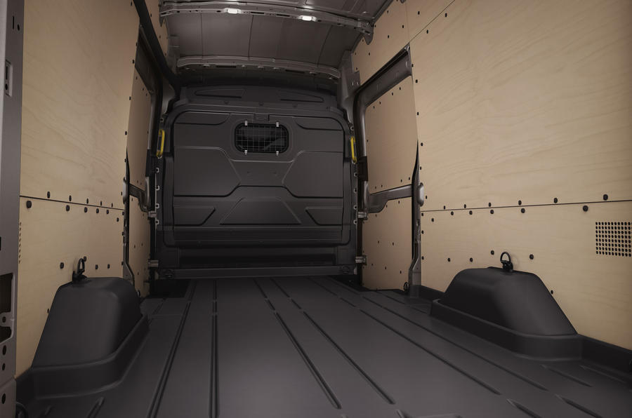 Ford Transit rear loadspace