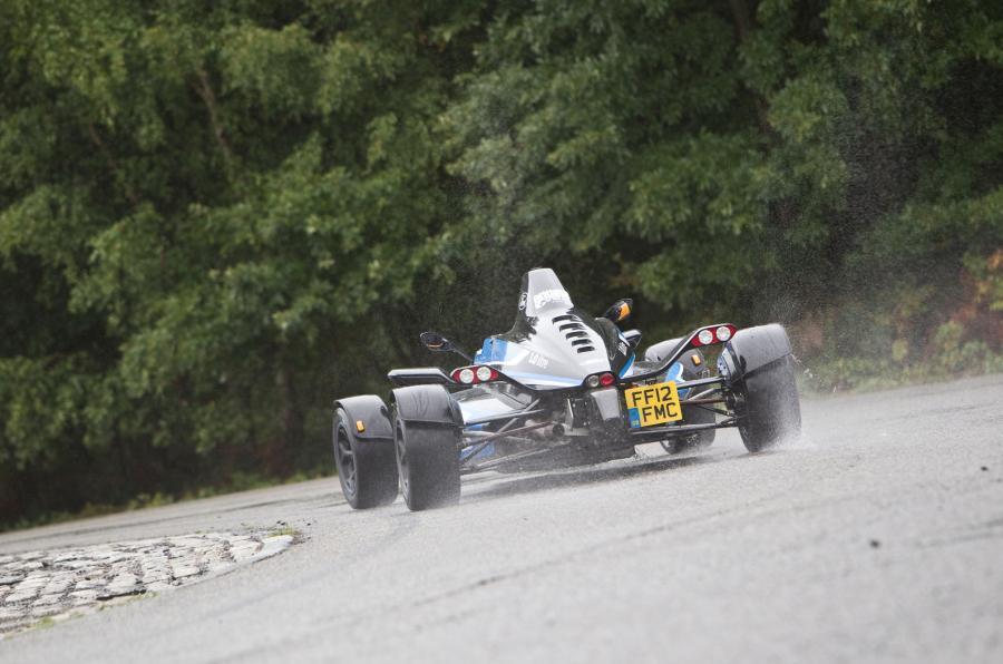 Formula Ford rear cornering