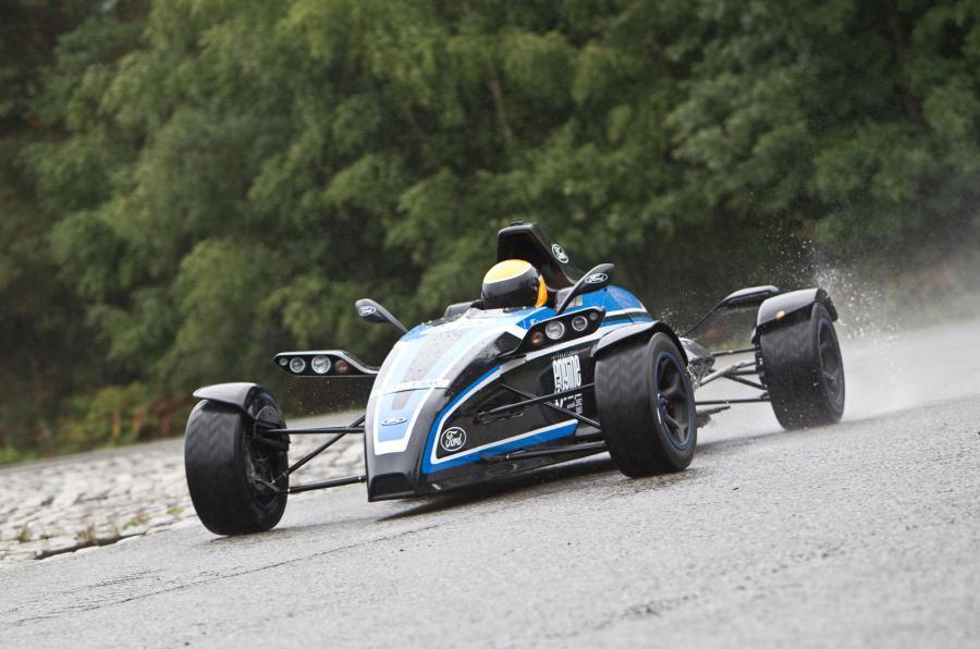 Formula Ford cornering