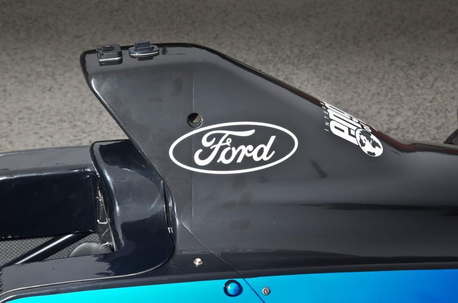 Formula Ford main air intake