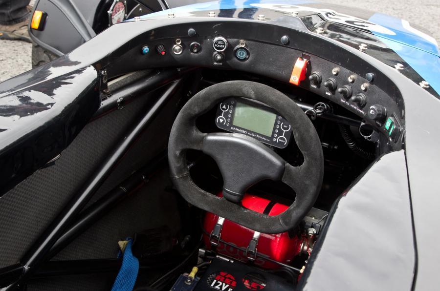 Formula Ford dashboard