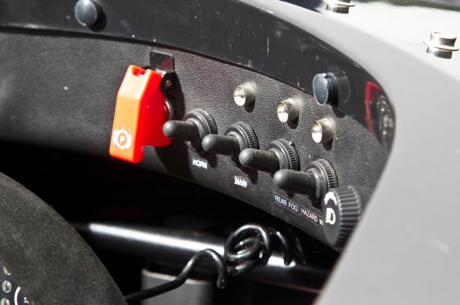 Formula Ford switchgear