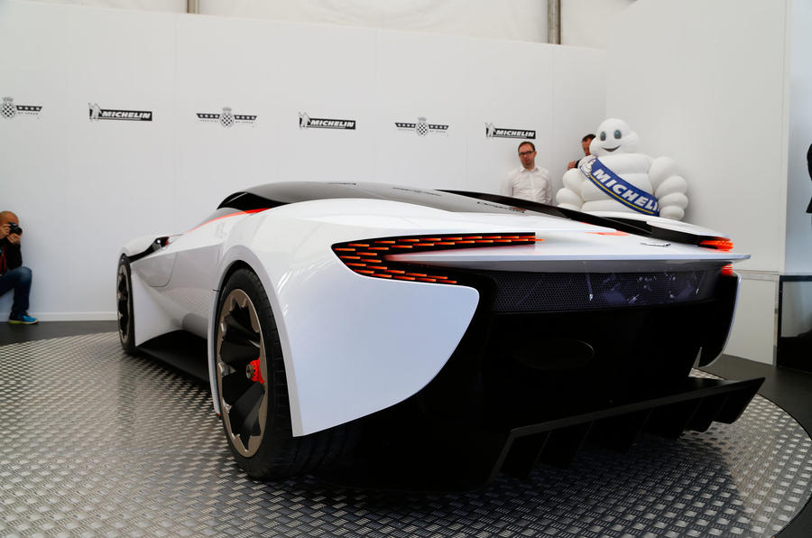 Aston Martin To Unveil New Concept At Goodwood