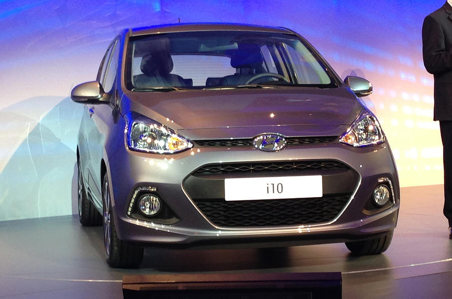 Frankfurt motor show 2013: Hyundai i10