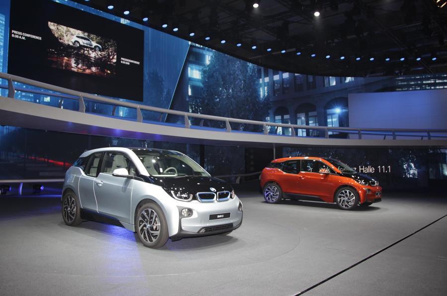 Frankfurt motor show 2013: BMW i3