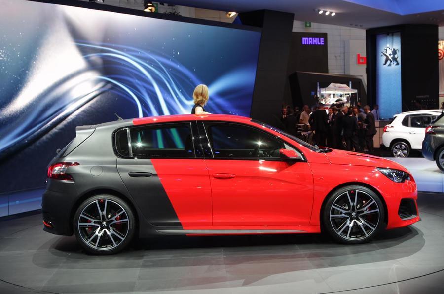 Frankfurt motor show 2013: Peugeot 308 R