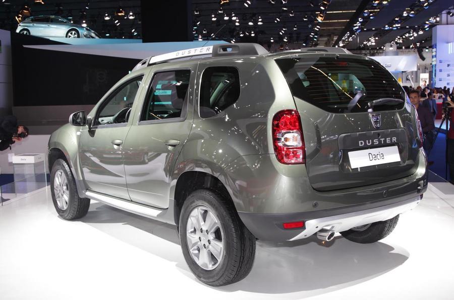 Facelifted Dacia Duster - latest pics