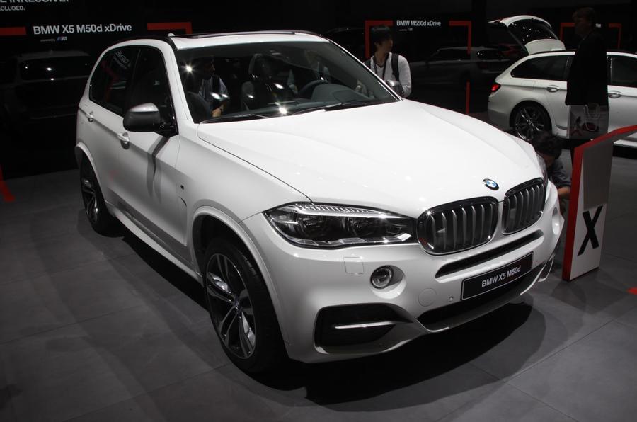 Frankfurt motor show 2013: BMW X5