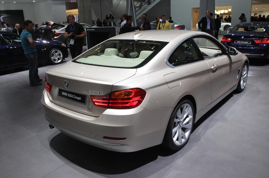 Frankfurt motor show 2013: BMW 4-series