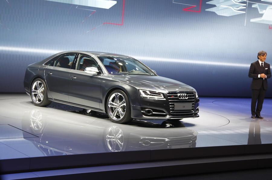 Frankfurt motor show 2013: Audi A8 facelift