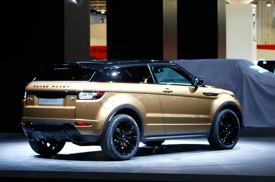 Frankfurt motor show 2013: Range Rover Evoque 2014 model year