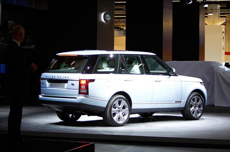 Frankfurt motor show 2013: Hybrid Range Rover and Range Rover Sport