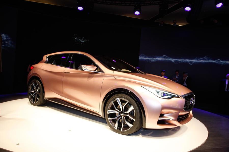 Mercedes to develop Infiniti Q30