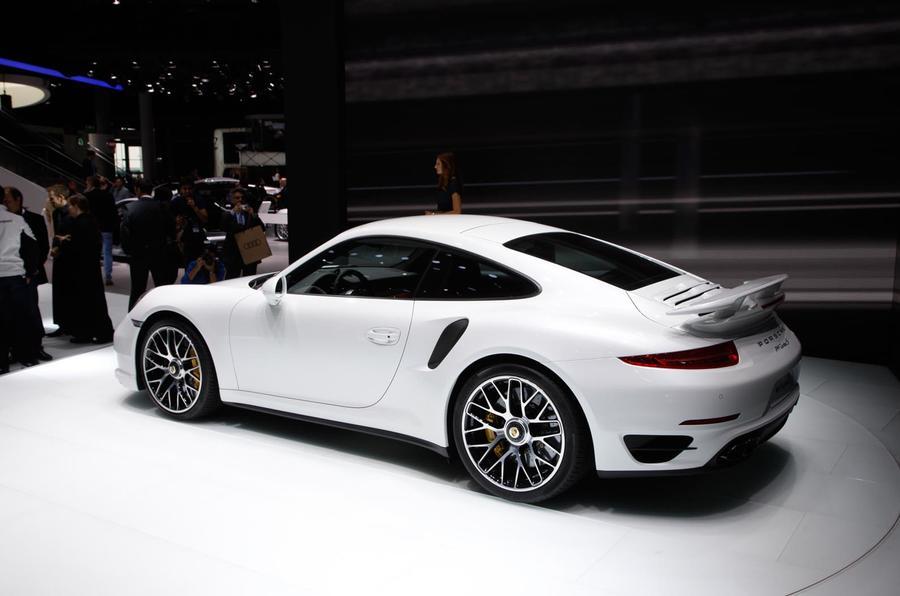 Frankfurt motor show 2013: Porsche 911 Turbo
