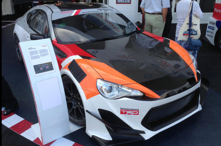 "Goodwood Festival of Speed 2013: Toyota GT86 race series ""possible"""