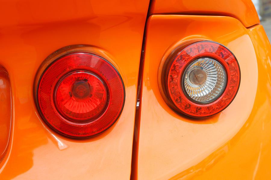 Ginetta G40 rear lights
