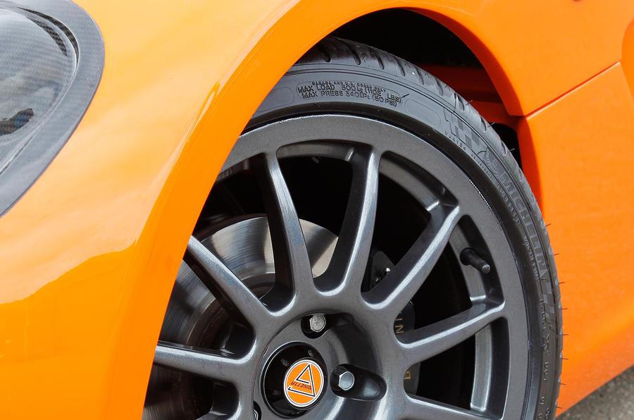 Ginetta G40 alloy wheels