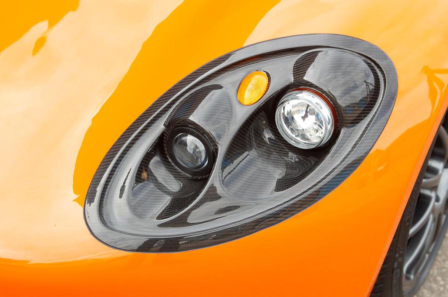 Ginetta G40 headlight