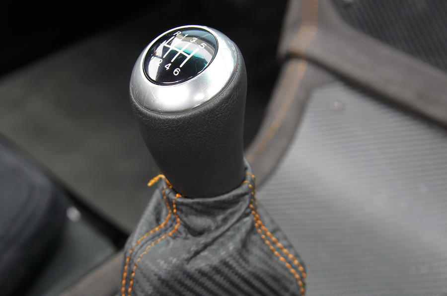 Ginetta G40 manual gearbox