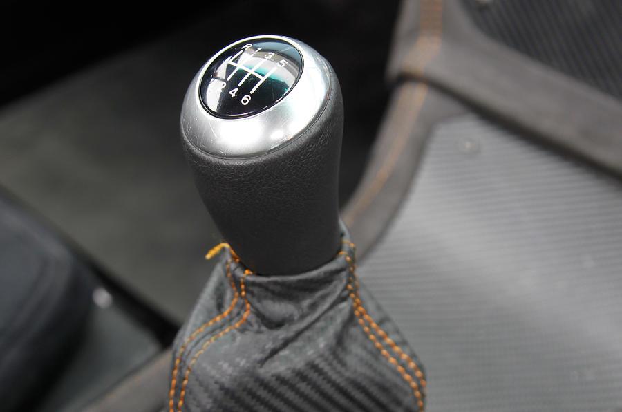 Ginetta G40 manual gearbox