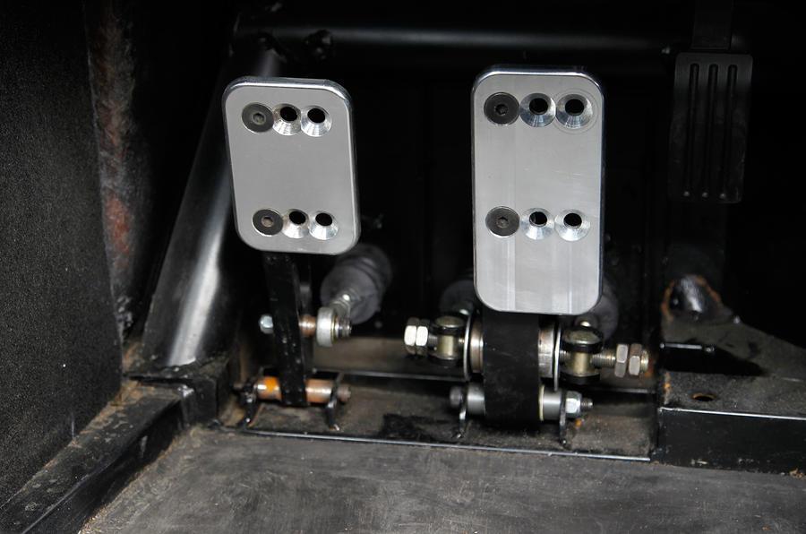 Ginetta G40 aluminium pedals