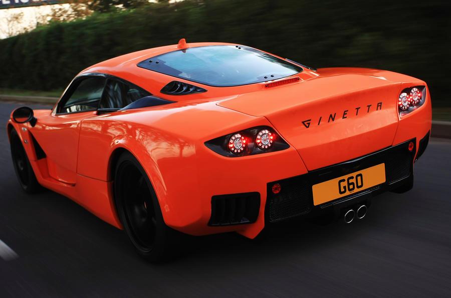 Ginetta G60 rear
