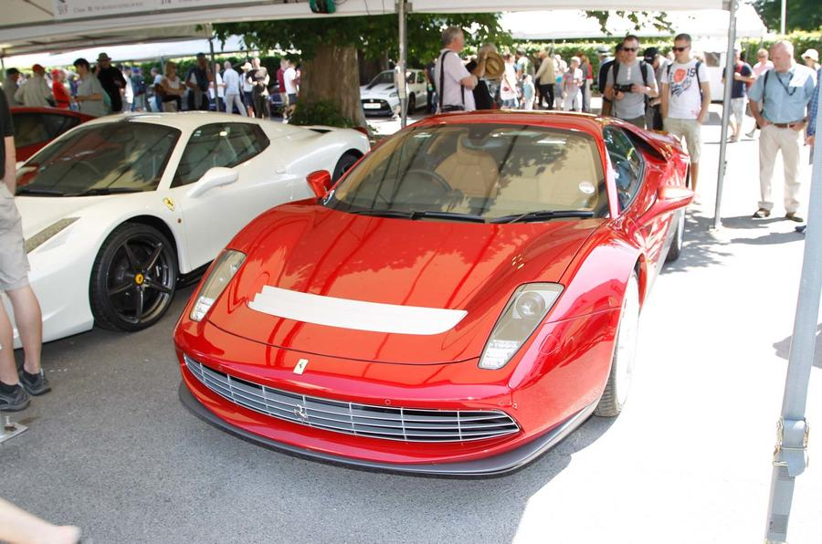 Festival of Speed supercar paddock
