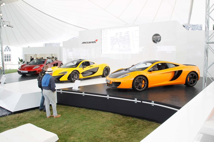 McLaren to show off P1 and bespoke 12C models at Goodwood
