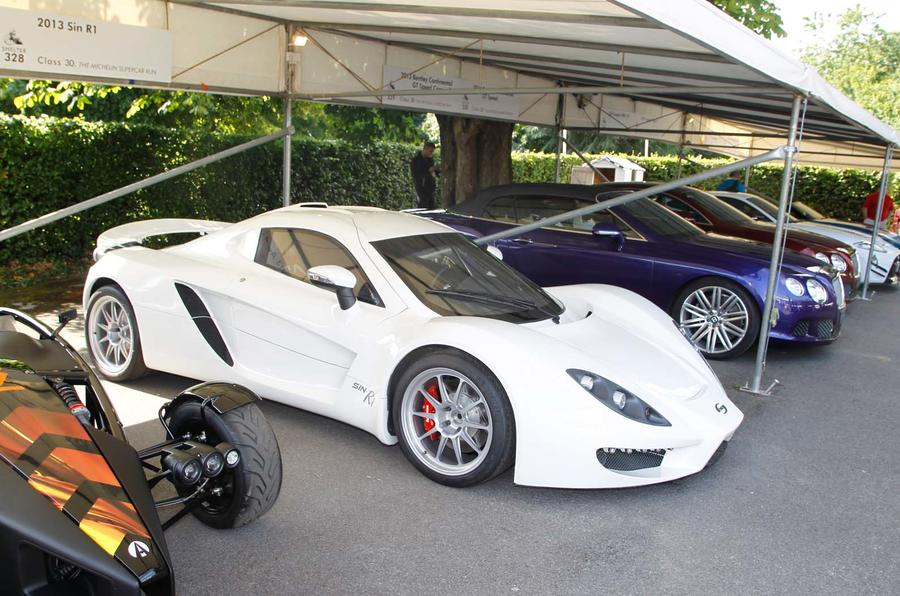Sin R1 road car for Autosport International debut