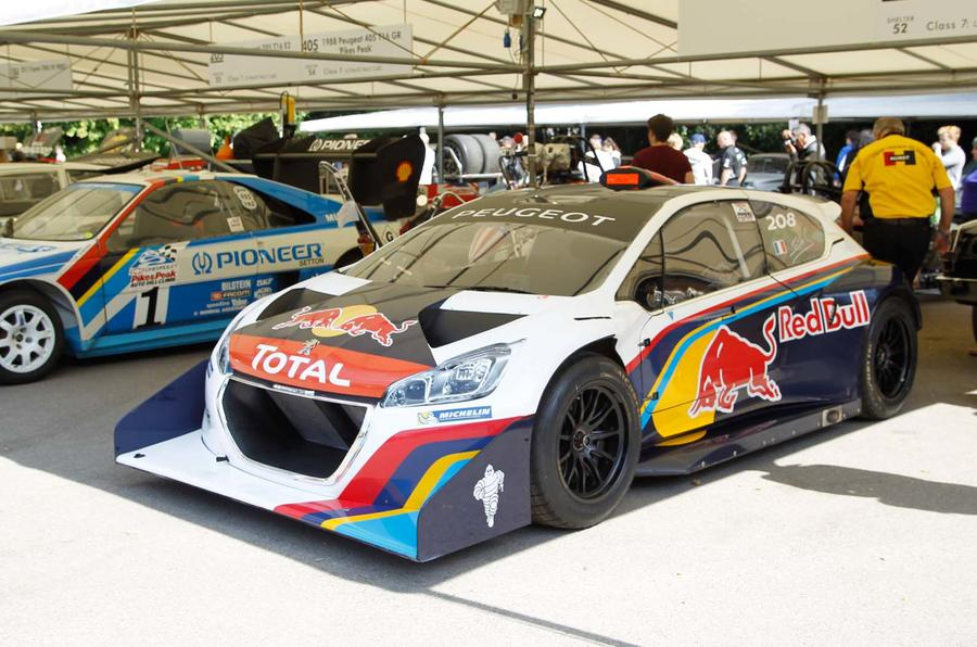 Goodwood Festival of Speed 2013: Peugeot 208 T16 Pikes Peak