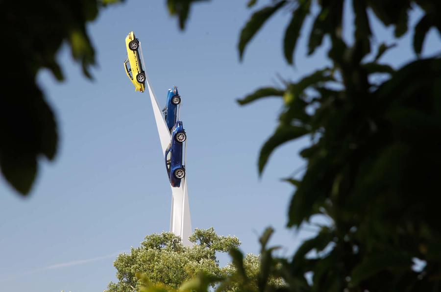 Goodwood Festival of Speed 2013: Porsche statue revealed